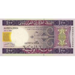 Mauritanie - Pick 10a - 100 ouguiya - 28/11/2004 - Etat : SPL