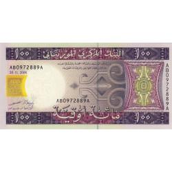Mauritanie - Pick 10a - 100 ouguiya - 28/11/2004 - Etat : NEUF
