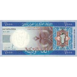 Mauritanie - Pick 20 - 2'000 ouguiya - 2011 - Etat : NEUF