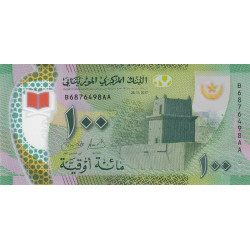 Mauritanie - Pick 23 - 100 nouveaux ouguiya - Polymère - 28/11/2017 - Etat : NEUF