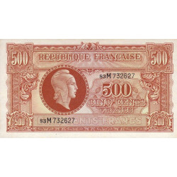 VF 11-02 - 500 francs - Marianne - 1945 - Etat : NEUF