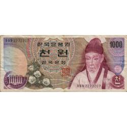 Corée du Sud - Pick 44 - 1'000 won - 1975 - Etat : TB