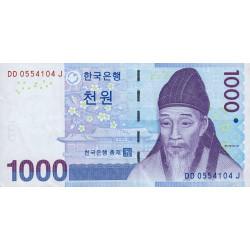 Corée du Sud - Pick 54 - 1'000 won - 2007 - Etat : TTB+