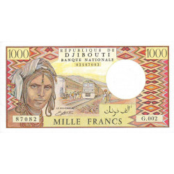 Djibouti - Pick 37c - 1'000 francs - 1991 - Etat : NEUF