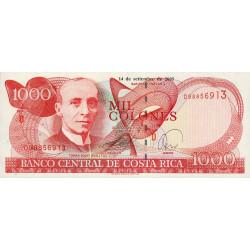 Costa Rica - Pick 264f - 1'000 colones - 14/09/2005 - Etat : NEUF