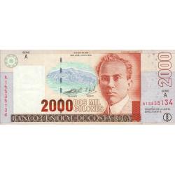 Costa Rica - Pick 265d - 2'000 colones - 09/04/2003 - Etat : SUP