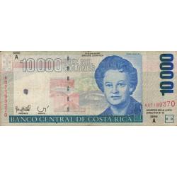 Costa Rica - Pick 267a - 10'000 colones - 30/07/1997 - Etat : TB