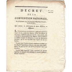 Assignat - Décret du 28 septembre 1793