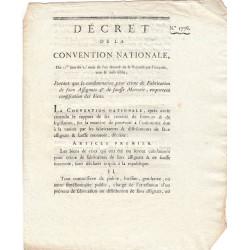 Assignat - Décret du 22 octobre 1793
