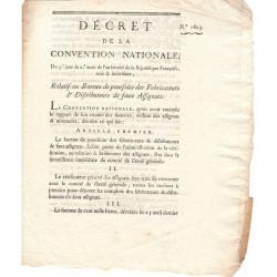 Assignat - Décret du 26 octobre 1793