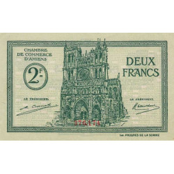 Amiens - Pirot 7-57 - 2 francs - 1922 - Etat : SPL