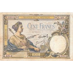 La Réunion - Pick 24-4 - 100 francs - 1940 - Etat : TB+