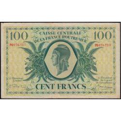 La Réunion - Pick 39 - 100 francs France Outre-Mer - 02/02/1944 - Etat : TB+