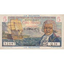 La Réunion - Pick 41 - 5 francs France Outre-Mer - 1947 - Etat : SUP
