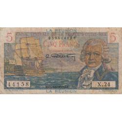 La Réunion - Pick 41 - 5 francs France Outre-Mer - 1947 - Etat : TB-
