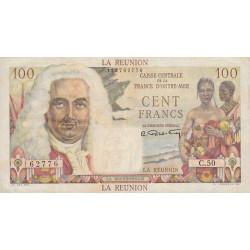 La Réunion - Pick 45 - 100 francs France Outre-Mer - 1947 - Etat : TTB+