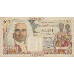 La Réunion - Pick 49 - 100 francs Département Outre-Mer - 1960 - Etat : TB+