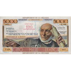 La Réunion - Pick 56b - 50 nouveaux francs sur 5000 francs - 1971 - Etat : SUP+
