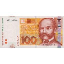 Croatie - Pick 41a - 100 kuna - 07/09/2002 - Etat : NEUF