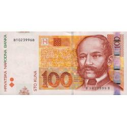 Croatie - Pick 41b - 100 kuna - 09/07/2012 - Etat : NEUF