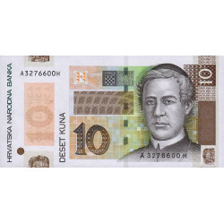 Croatie - Pick 43 - 10 kuna - 2004 - Commémoratif - Etat : NEUF