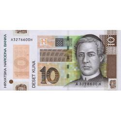 Croatie - Pick 43 - 10 kuna - 30/05/2004 - Commémoratif - Etat : NEUF
