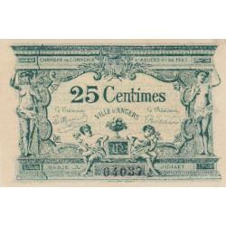 Angers (Maine-et-Loire) - Pirot 8-4 - 25 centimes - Série A - 11/1917 - Etat : SPL