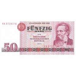 Allemagne RDA - Pick 30b - 50 mark der DDR - 1986 - Etat : NEUF
