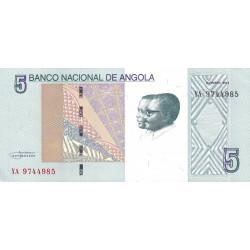 Angola - Pick 151A - 5 kwanzas - 10/2012 - Etat : NEUF