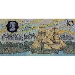 Australie - Pick 49a - 10 dollars - 1988 - Polymère commémoratif - Etat : NEUF
