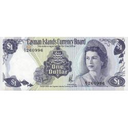 Caimans (îles) - Pick 5a - 1 dollar - 1981 - Etat : NEUF