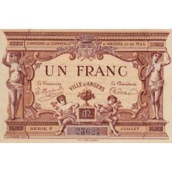 Angers (Maine-et-Loire) - Pirot 8-6a - 1 franc - 1915 - Etat : SPL
