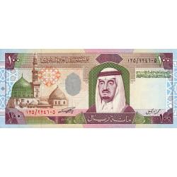 Arabie Saoudite - Pick 25a - 100 riyals - Série 100 - 1984 - Etat : pr.NEUF