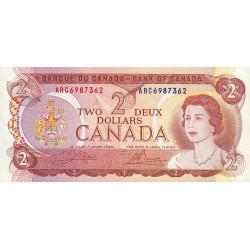 Canada - Pick 86b - 2 dollars - 1984 - Etat : NEUF