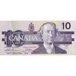 Canada - Pick 96a - 10 dollars - 1989 - Etat : NEUF