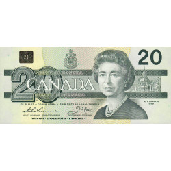 Canada - Pick 97a_2 - 20 dollars - 1991 - Etat : NEUF