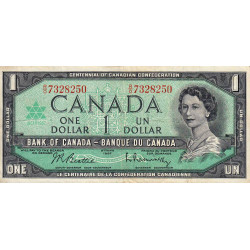 Canada - Pick 84b_2 - 1 dollar - 1967 - Commémoratif - Etat : TTB-