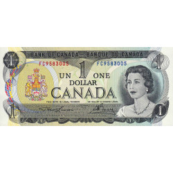 Canada - Pick 85a2 - 1 dollar - 1973 - Etat : NEUF
