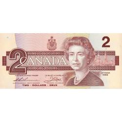 Canada - Pick 94b_2 - 2 dollars - 1987 - Etat : NEUF