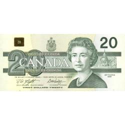 Canada - Pick 97d1 - 20 dollars - 1994 - Etat : SPL