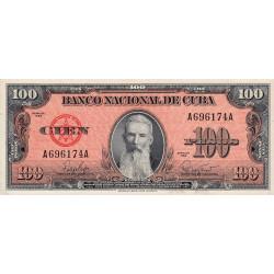 Cuba - Pick 93 - 100 pesos - 1959 - Etat : NEUF