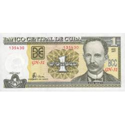 Cuba - Pick 121g - 1 peso - 2007 - Etat : NEUF