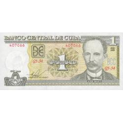 Cuba - Pick 121i - 1 peso - 2009 - Etat : NEUF