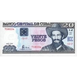Cuba - Pick 122a - 20 pesos - 2004 - Etat : NEUF