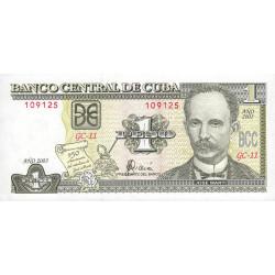 Cuba - Pick 126 - 1 peso - 2003 - Commémoratif - Etat : NEUF