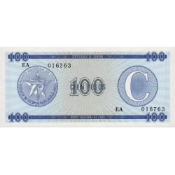 Cuba - Pick FX 25 - 100 pesos - 1990 - Série C - Etat : NEUF
