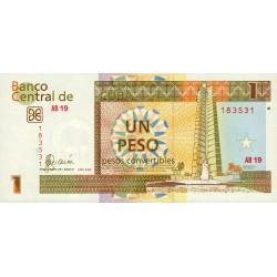 Cuba - Pick FX 46 - 1 peso - 2006 - Etat : NEUF