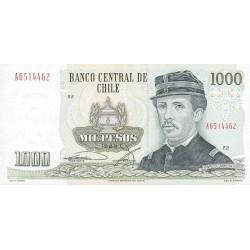 Chili - Pick 154c5 - 1'000 pesos - 1988 - Etat : SUP+