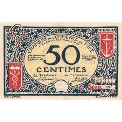 Nice - Pirot 91-04a - 50 centimes - Série 12 - 25/04/1917 - Etat : pr.NEUF