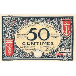Nice - Pirot 91-04a - 50 centimes - Série 18- 25/04/1917 - Etat : SPL
